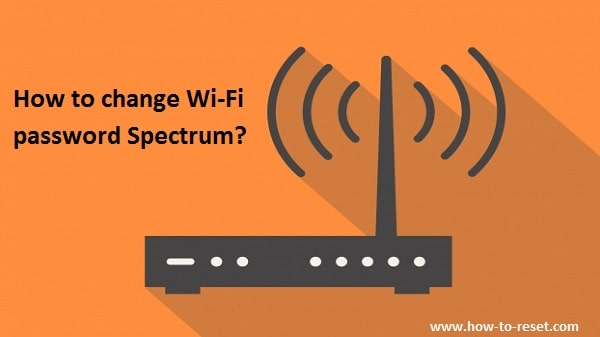 Change Wifi password Spectrum