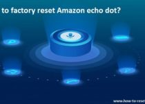 reset echo dot